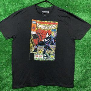 Marvel Spiderman Comic Book tee size 2X